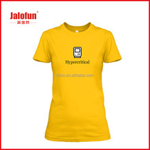 Promotion Custom Design printing t shirts with your logo