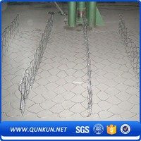 Precise construction everlasting (anping factory) galvanized pvc coated gabion basket/ gabion box