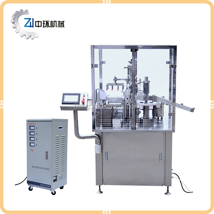 Pre-fillable vacuum syringe filling and plugging machine ZHF-S2000