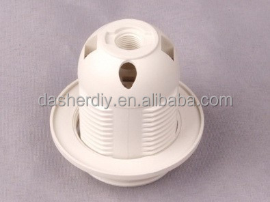 UL approved Top quality E26 plastic lamp socket/ lampholder