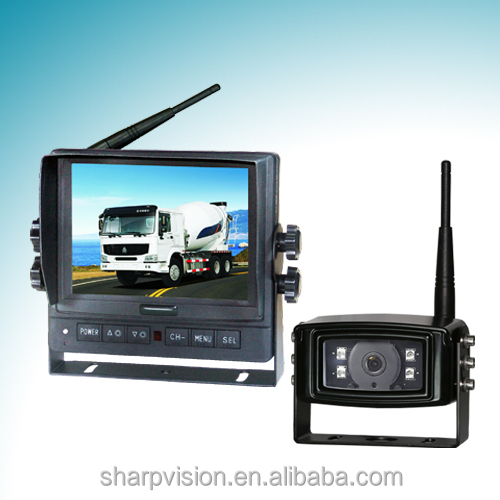 2.4GHz Car Camera Wireless, Car Rearview monitor with Digital screen