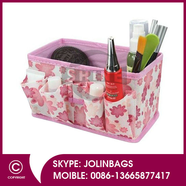 Desk Non-woven <strong>cosmetics</strong> and home living storage box