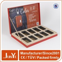 Junye cosmetic essential oil bottle cardboard gift packaging box
