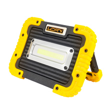 Super bright energy saving USB input output portable rechargeable cob LED work light 5w 10w LED floodlight
