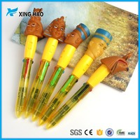 Xinghao personalized plastic cartoon pen for kids as a gift promotional cheaper cute ball pen