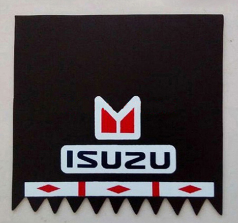 Factory customized rubber splash guard/mudflap