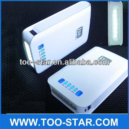 10000mAh USB External Battery Backup Power Supply Bank Charger for Mobile Phone