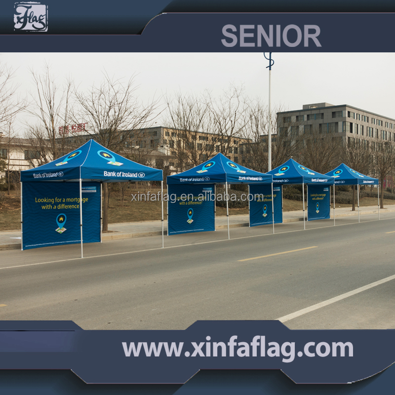 Personaized printed Outdoor Advertising 10x10 foot foldable canopy tent