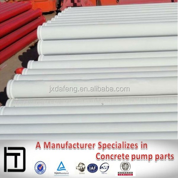 concrete pump double wall delivery pipe