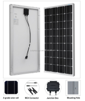 2016 TOP 10 manufacture Mono and Poly 5W 20w 30w 40w 50w 100w 150w 200w 250w 260W 300w 320w solar panel