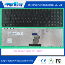 Replacement laptop keyboard for LENOVO G580 US layout keyboard