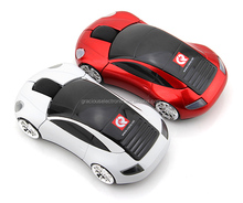 2017 hot new products wireless universal fashion design sport car mouse