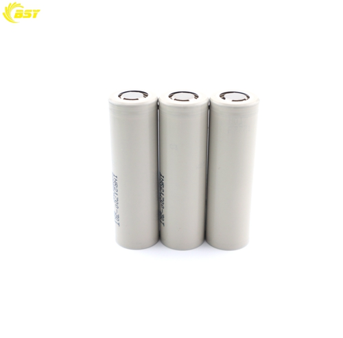 Wholesale vape battery original 21700 battery 3000amh 30T 3.7v rechargeable battery 21700 cell