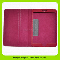 15046 Original stand leather tablet case for ipad mini in stock