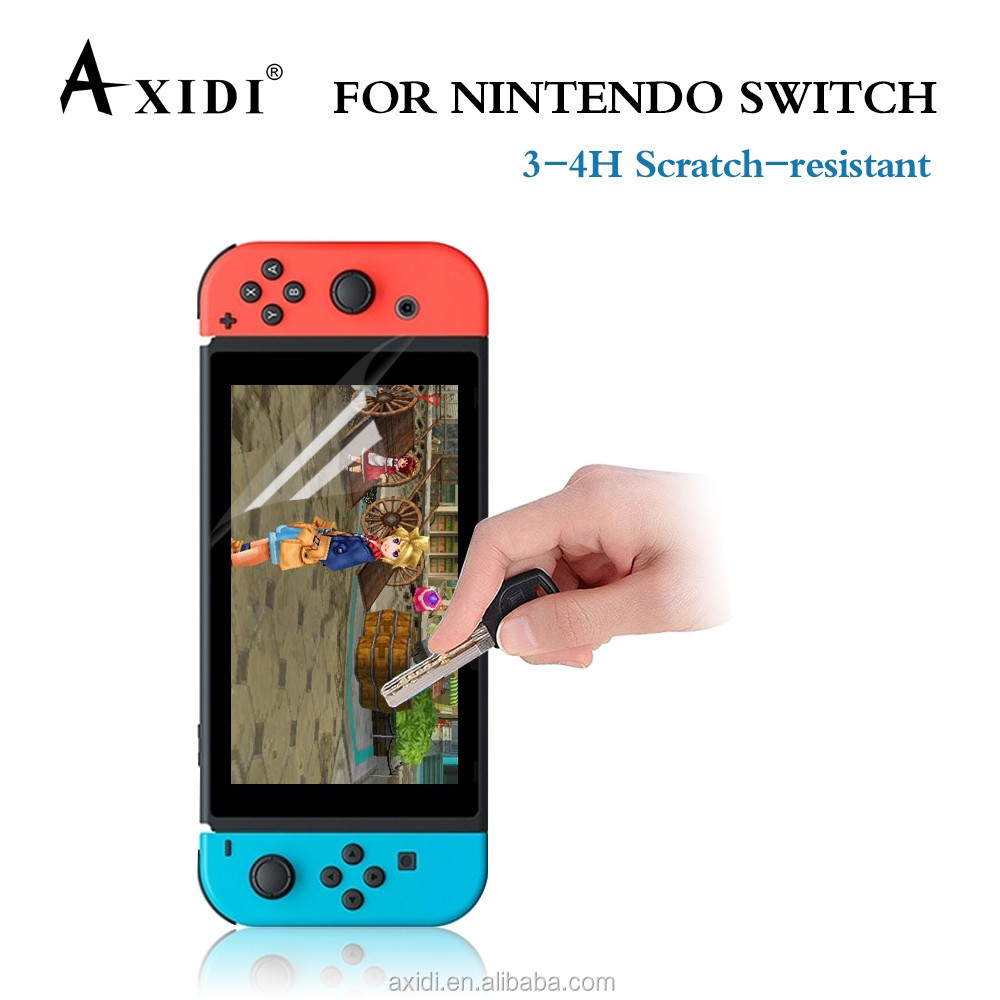Assessed Supplier!!Super Clear PET Ultra Slim Screen Protector film For Nintendo Switch Screen Guard