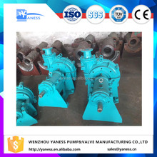 AH rubber line ash slurry chrome plating centrifugal pump for industrial using