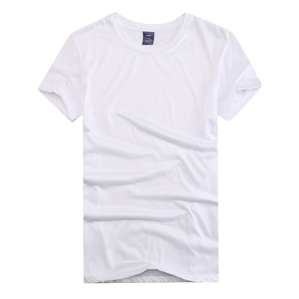 wholesale cheap price polyester round neck white blank <strong>shirt</strong> for printing election/promotion