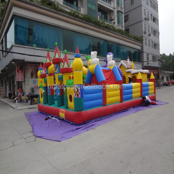 Hola inflatable amusement park/inflatable funcity