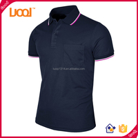 Custom Men's Dri Fit Polo t shirts Pique Breathable Quick Dry Polo Shirt