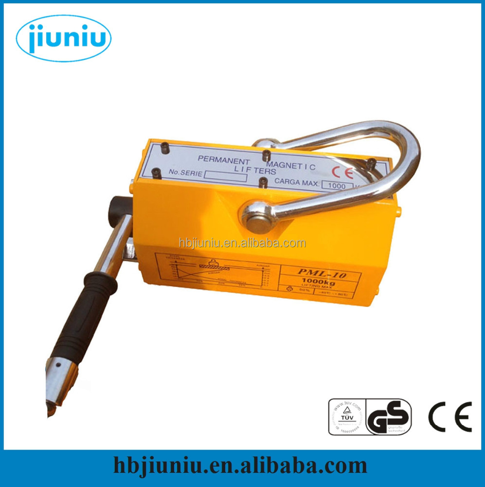 Power lifter tool, portable permanent magnetic plate lifter