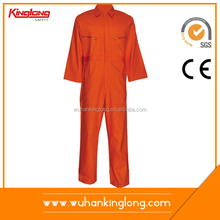 Wholesale 100% Cotton Fire Retardant Anti Static Workwear Coverall