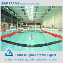 Steel structural canopy prefabricated swimming pool
