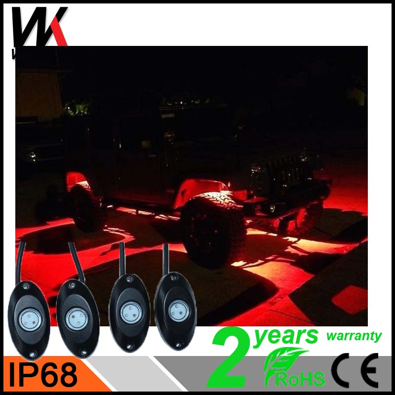 Online shipping 9W bluetooth remote control car deck light CE&ROHS approved