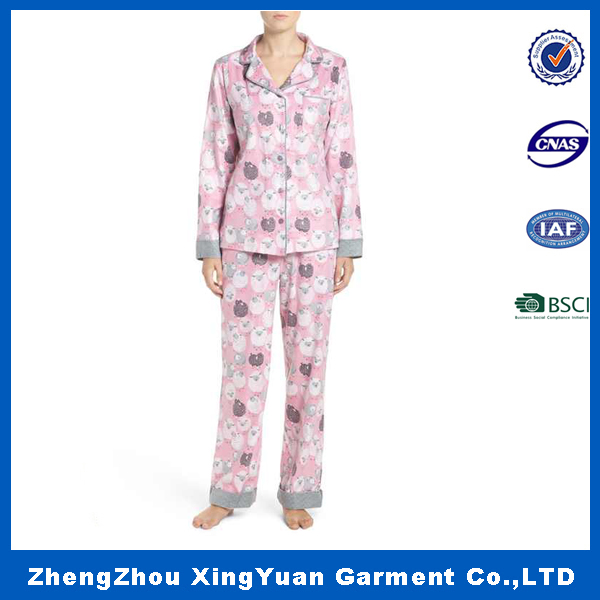 custom pajama pants girl fashionable high quality basic pajama pant
