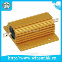 5W 500W Gold Aluminum Housed Wirewound