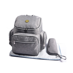 Multifunctional Mummy Baby Diaper Bag Backpack with Changing Mat