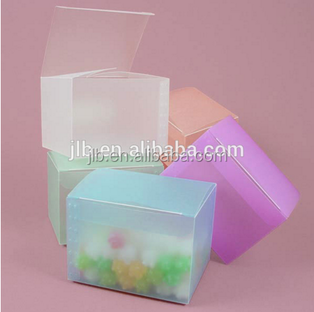 Custom made PP high quality Plastic Box for Mint Candy Packaging