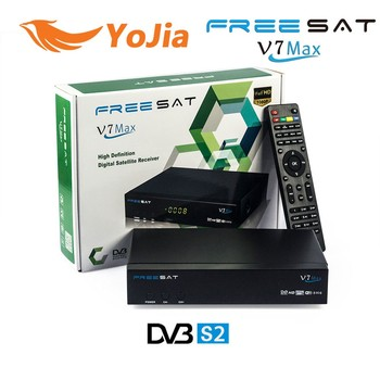 [Genuine] 2016 Freesat V7 Max DVB-S2 Satellite TV Receiver Support PowerVu Biss Key Cccamd Newcamd Youtube Youporn Set top box