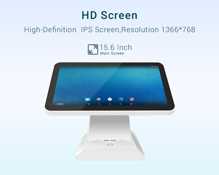 "Jepower JP762A-AN3 Single 15.6"" Screen Android POS Systems"