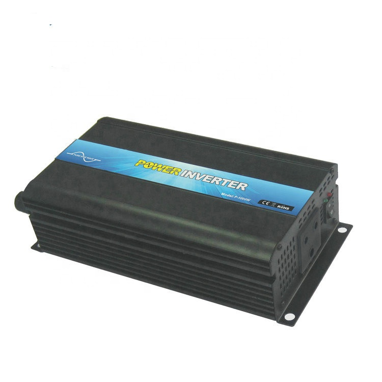 1000 watt intelligent rack mount power inverter 48vdc to 110vac home inverter for single phase motors