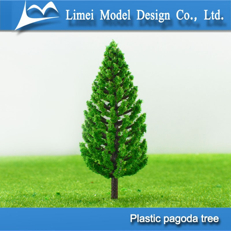 plastic pagoda tree/Architectural model material/miniature model trees