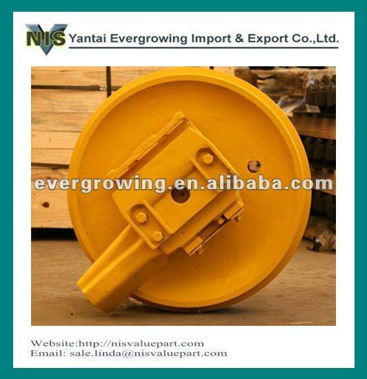 Idler and recoil spring assy for excavator and bulldozer