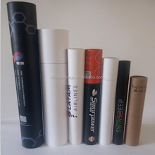 custom cheaper full kraft mailing tube with printing for shipping