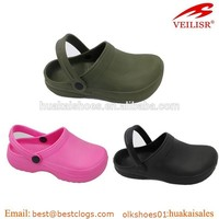 Non Holes Hospital Eva Clogs, Bright Color Good Shape High Quality Hospiyal Eva Clogs, Kitchen Eva Clogs