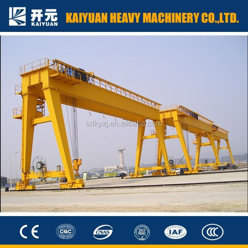 150 T Good Quality and Widely Used MG Model Double Girder Traveling Gantry Crane