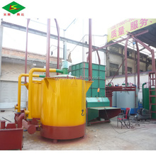 ISO & CE High heating value Long burning time smokeless sawdust briquettes carbonization kiln