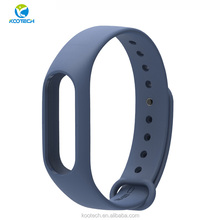 Silicone Wrist smart watch band Replacement watch Strap for xiao mi band 2 strap