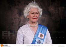 United Kingdom Elizabeth II wax figure for sale