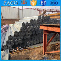 steel structure building materials ! ductile iron galvanized pipe water round pre-galvanized steel pipe