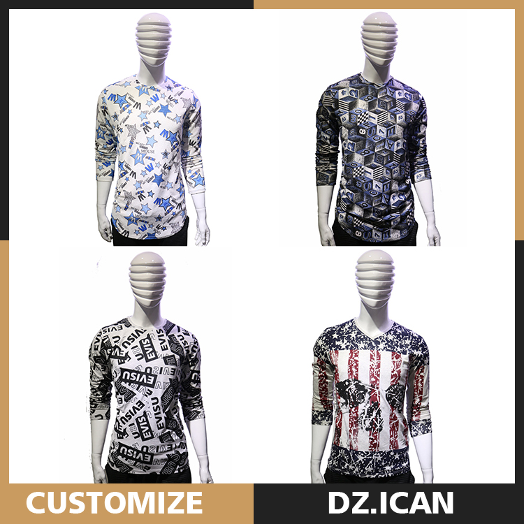 Customizable African Fashion Long Sleeve Clothes With Pattern