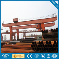 galvanized round steel pipe price round anticorrosion spiral pipe