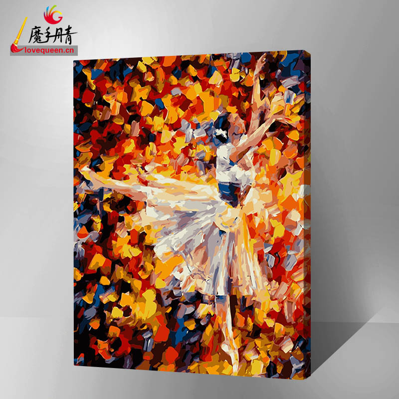 2016 canvas painting diy oil painting by numbers dance sex woman for decor home