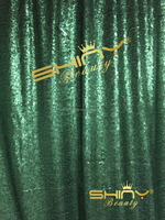 Grass Green Sequin Backdrop,Customed Sequin Fabric Backdrop For Photography Curtain, Cutain Panels for Window