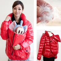 Maternity clothes comfortable Down Jackets thicken warming maternity coat and for pregs Breastfeeding dresses for pregnant women