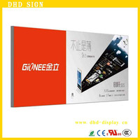 printing high quality battery powered led light box for advertising