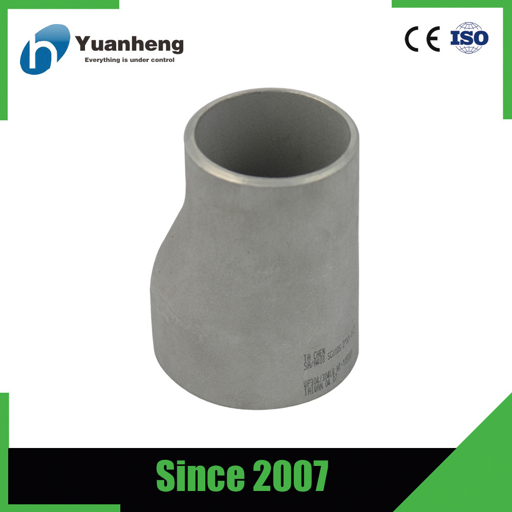 Pipe Fittings Butt Welded SCH10 Stainless Steel Concentric Reducer